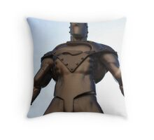 the real steel Throw Pillow