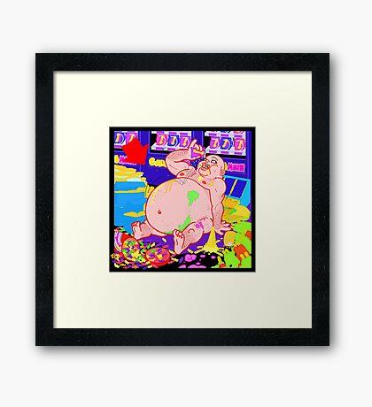 Candy Mush 4 Framed Print