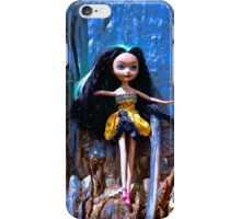 Scribble Bark Emo Barbie iPhone Case/Skin