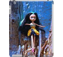 Scribble Bark Emo Barbie iPad Case/Skin