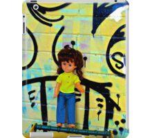 Back Alley Bin Doll iPad Case/Skin