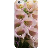 Exquisite, Elegant English Foxgloves iPhone Case/Skin