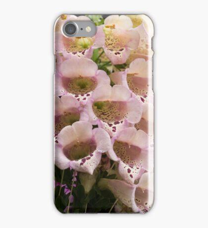 Exquisite, Elegant English Foxgloves iPhone Case/Skin