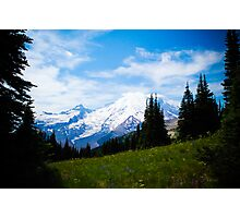 Mt. Rainier Photographic Print