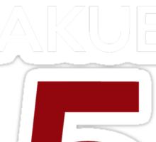 Kuroko No Basket Basuke Gakuen 5 Cosplay Jersey Anime T Shirt Sticker
