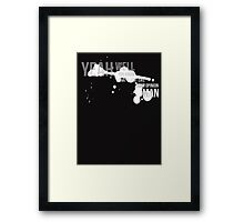The Big Lebowski - Yeah Well That's Your Opinion Man Framed Print