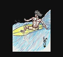 Surfer Dude  Zipped Hoodie