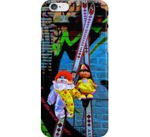 Back Alley Ski Fun  iPhone Case/Skin