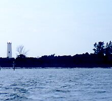 Egemont Key Lighthouse by Roger Otto