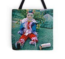 Sad Clown Loose Limbs Tote Bag