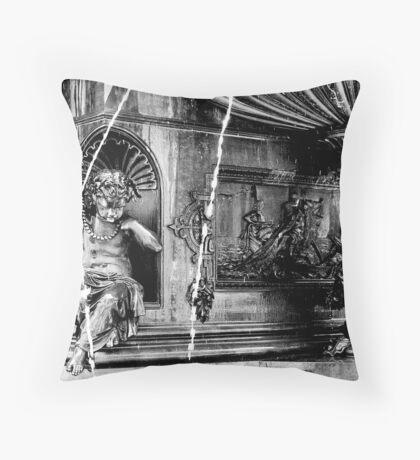 Tyler Davidson's Masterpiece (Fountain Square) Throw Pillow