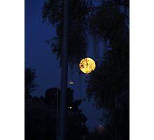 Beautiful Morning Moon 3/3 Photographic Print