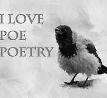 I Love Poe Poetry by luckypixel