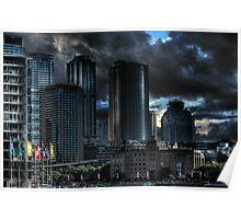 Sydney Skyline HDRi Poster