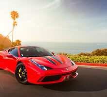 Ferrari 458 Speciale by David Coyne