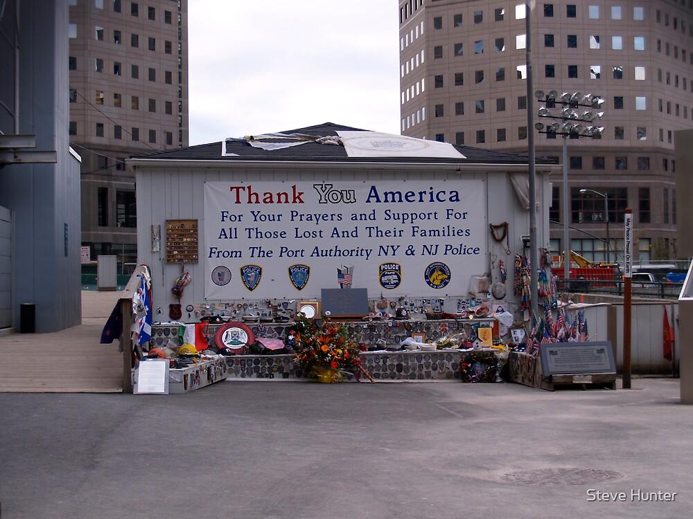 World Trade Center Memorial by Steve Hunter