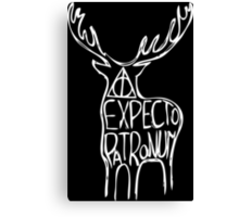 Expectopatronum Canvas Print