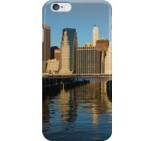 New York City Morning Reflections - Impressions Of Manhattan iPhone Case/Skin