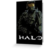 Halo - John 117 Greeting Card