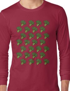 Badass Broccoli's Long Sleeve T-Shirt