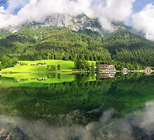Lake Hintersee by Yair Karelic