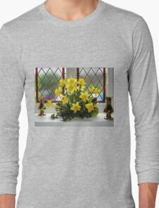 Easter Window Long Sleeve T-Shirt