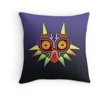 Majora's Mask Throw Pillow