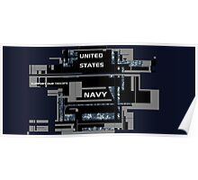 The United States Navy. Poster