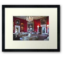 Inside Downton Abbey Framed Print