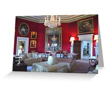 Inside Downton Abbey Greeting Card