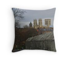 York and its Minster Throw Pillow