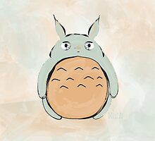 Sweet Totoro by Martha Lilia Guzmán