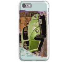Green Classic Beetle iPhone Case/Skin