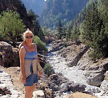 Samaria Gorge, Crete, Greece by Francis Drake