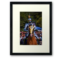 Knight in Armour Framed Print