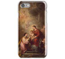 Bartolome Esteban Murillo - The Mystic Marriage of Saint Catherine iPhone Case/Skin