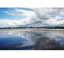 Town By The Water Photographic Print