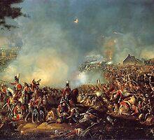 Battle of Waterloo 1815 by Adam Asar