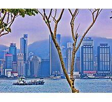 Hong Kong Photographic Print