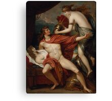 Benjamin West - Thetis bringing the Armor to Achilles Canvas Print