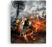 Infamous Second Son - Delsin in the Street Canvas Print