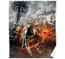 Infamous Second Son - Delsin in the Street Poster