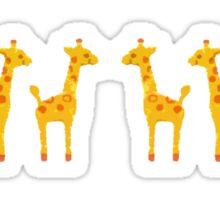 Giraffes love too Sticker
