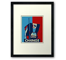 Borderland - Clap Trap For Change Framed Print