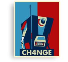 Borderland - Clap Trap For Change Canvas Print