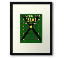 Waterloo 200th Anniversary  Rifles Framed Print