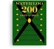 Waterloo 200th Anniversary  Rifles Canvas Print
