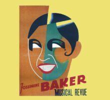Josephine Baker Vintage Poster for Stockholm Baby Tee