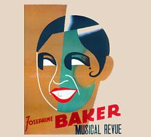 Josephine Baker Vintage Poster for Stockholm T-Shirt