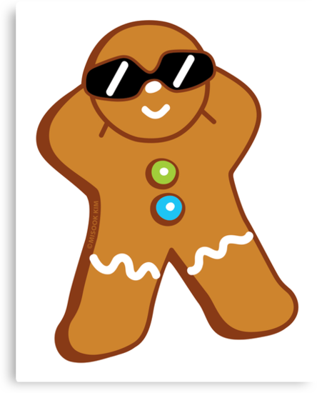 Tan Gingerbread Man by misook